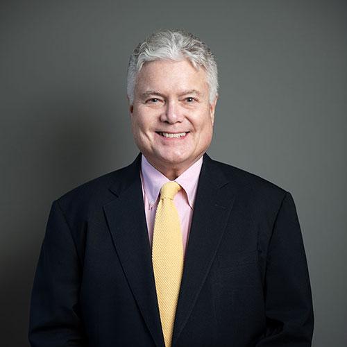Dr Edward Hallowell suit portrait